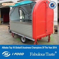 2014 new Mobile food trailer/van for sale in philippines/food kiosk