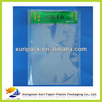 High quality clear reusable food pouch