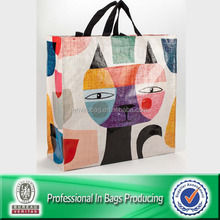 100% Recycled Material eco-friendly cheap pp woven tote bag