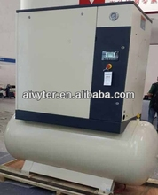 10 HP / 7.5 KW Rotary Screw Air Compressor with 300 L Air Tank