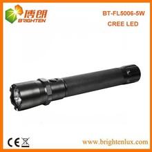 CE ROHS Certification Bright Light Aluminum Camping Usage Cree xpg2 5w led high powered flashlight