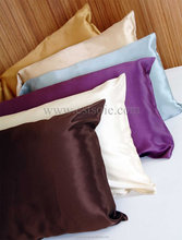 OEM Bed Covers Classic Real Silk Pillow Shams 100% Silk Charmeuse Pillowcase