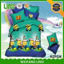 cartoon character bedding/cartoon baby bedding/cartoon crib bedding