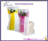 organza wedding sashes, cheap wedding sashes for special events, wedding chair covers