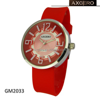 Japan movement silicone water resistant prayer time watch