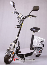 China Made Chain Drive Transmission 2 Wheels Portable Electric Scooter &Bikes