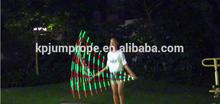 2015 OEM e ODM produzir Bluuing marca led cordas de pular velocidade e crossfit cable jump rope para chirdren