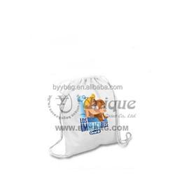 ECO friendly reusable cotton drawstring bag shopping bag cheap women bag various color available