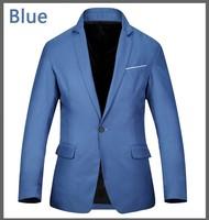 новых весной и осенью мужчины пиджак черный/синий факультативного lmy марки zilli одежда Терно словаре джинсовая часть
