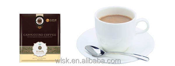 Delicioso ganoderma café cappuccino