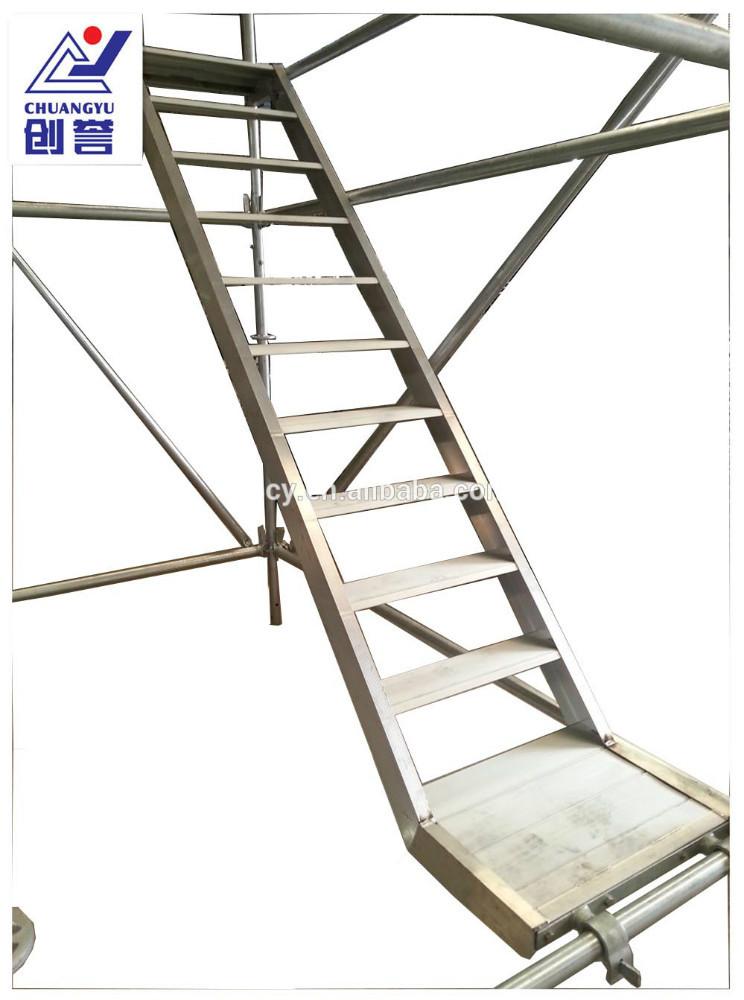 Andamios de aluminio escalera escaleras identificaci n - Escalera andamio aluminio ...