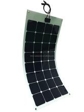 23% high efficiency sunpower cell semi fleixble solar panel for RV, Boat 100W 200W