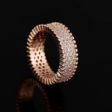 Professional Factory Wholesale Fashion Ring, New Crystal Ring, Gold Plated Ring