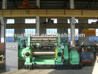 HUAHAN Rubber two roll mill/open mixing mill/rubber mixing mill compound machine