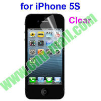 New Arrival Clear Screen Protector for iPhone 5S (Mirror/Frosted/Diamond/Privacy Optional)