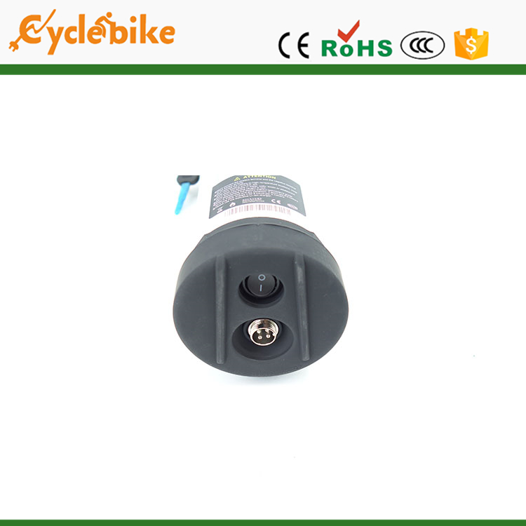 Professional water bottle type 36v lithium battery with controller box 13.6ah with high quality