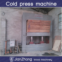 Cold Press Machine for Plywood / hydraulic cold press for veneer / woodworking veneer machine