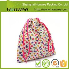2015 hot new cheap cotton drawstring bag