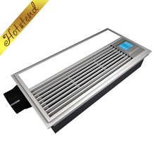 Wholesale ceiling mounted PTC bathroom heater exhaust fan with LED light