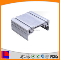 Customized design silver anodising square aluminum cover aluminum case