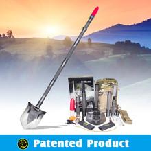 Hand Tool 2015 Portable Car Emergency Tool Kit Model#DJSV-SD Pickaxe and shovel