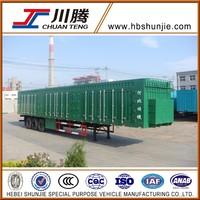 HBS9390XXY Delivery van truck trailer