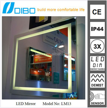 ip44 waterproof t5 badroom backlit mirror
