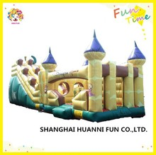2015 hot sale favorable commercial PVC 0.55mm inflatable water slide inflatable castle