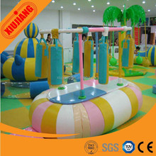 Indoor soft play eqeuipment electric boxing bag