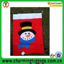 candy packing drawstring christmas gife bag/non woven gift pouch for festival