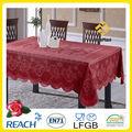 Venda quente do laço do poliéster toalha de mesa de casamento/independente de cor toalha de renda