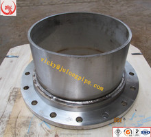 HOT SELL Stainless Steel Double Flanged Pipe/Flange Spigot Pipe Fittings