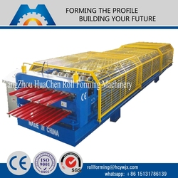 china supplier building machine color steel roofing sheet rolling machine