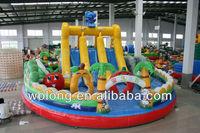 inflatable fun city, inflatable moonwalk