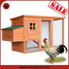 """X06349 High Quality Wooden chicken coop/Chicken house With Big Run Cage 76 """"W x 26""""D x 41""""H"""
