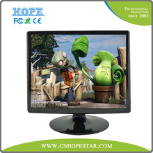 """square Computer Monitor 15"""" lcd pc monitor 24V DC power/AC optional"""