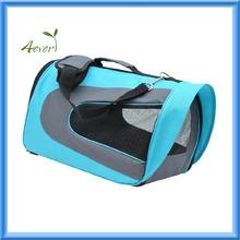 Pet Dog Soft Sided Travel Carrier Tote Bag - Light Blue