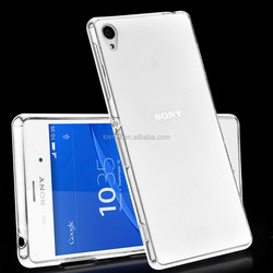Crystal Transparent Soft TPU Ultra Thin Case For Sony Xperia Z3
