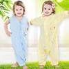 100% bamboo printing muslin baby sleeping bag for summer