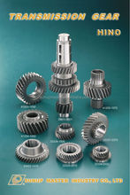 For HINO auto gearbox transmission gears parts