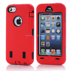 For Apple iPhone 5C Wholesale New Stylish Full Protective Silicone Gel Cell Phone Case for iPhone 5C