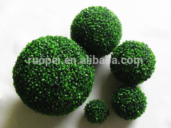 Artificial pelota topiaria boj natural bola boj c sped for Jardin y natura