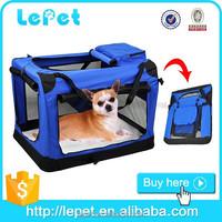 Foldable soft dog kennel pet carriers/pet carrier/soft dog carrier bag