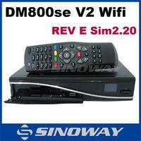 In stock! Dm800Hd Se V2 wifi Enigma2 Linux Digital Receiver Sun800 Se Hd Wifi Sim 2.20 sim Card Samsat Hd Dm800Se Wifi Rev E V2