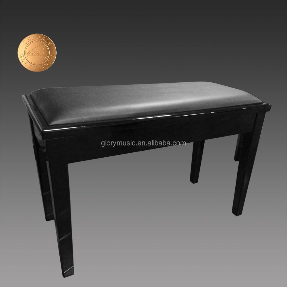 Furniture Modern Adjustable Piano Bench With Leather Seat Cushion Hs 005ep Buy Piano