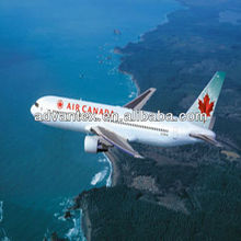 Air shipping service from China to Canada