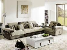 latest design modern wooden fabric arabian sofa