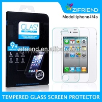Factory Prices Tempered Glass Screen Protector/Film for Iphone4