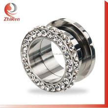 ZhiRen fashionable stainless steel Screw fit body jewelry piercing, body piercing