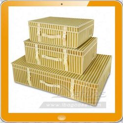 clothing storage box foldable storage container